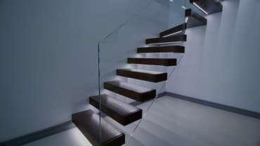 Стеклянные лестницы в Тольятти