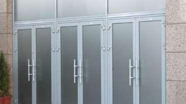 Алюминиевые двери в Тольятти